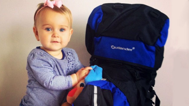 This Baby Girl Started Traveling The World Since She Was 10 Weeks Old