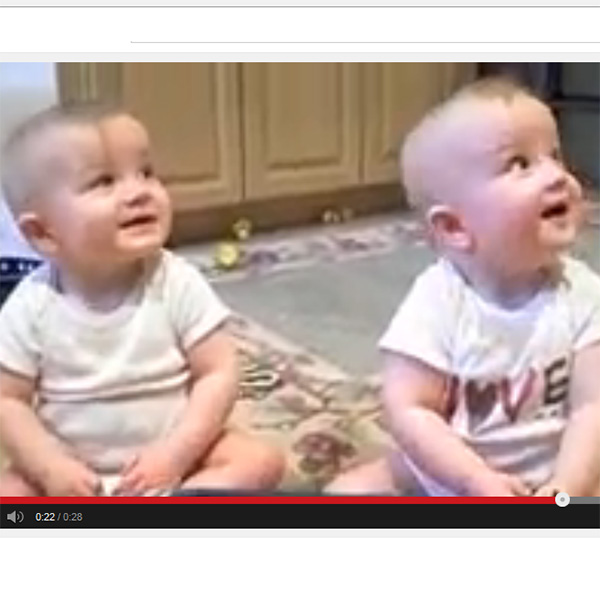 This Made our Day: Twins Mimic Dad's Sneeze