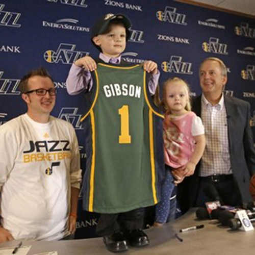 This Made our Day: NBA's Utah Jazz Fulfills 5-year Old Leukemia Patient's Dream