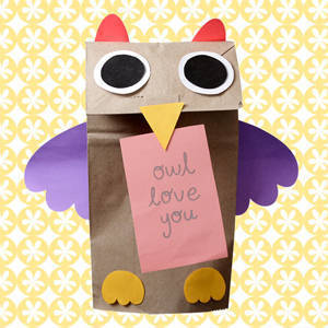 Let's Recycle: 6 Valentine Crafts Out of Supermarket Paper Bags