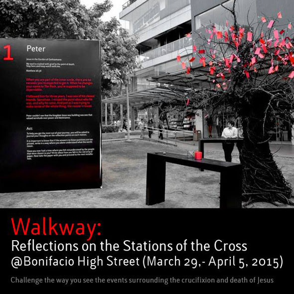 Walkway: Reflections on the Stations of the Cross poster