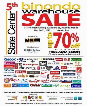 Binondo Warehouse Sale
