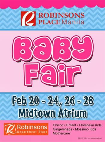 Robinsons Baby Fair