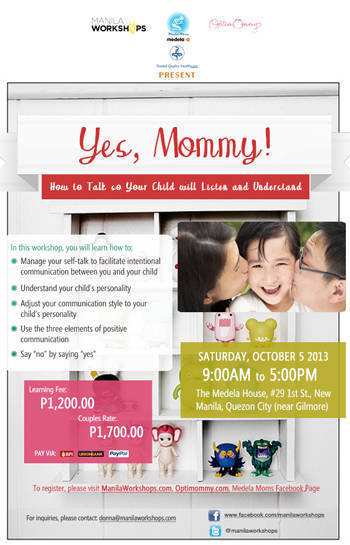 Yes Mommy workshop