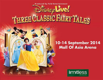 Disney Three Classic Fairy Tales