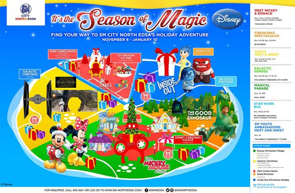Christmas attractions 2015