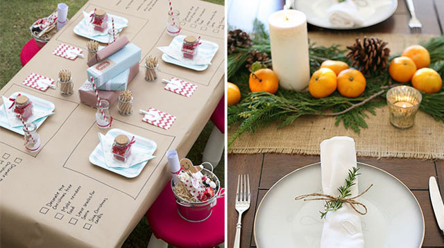 5 Must-do Christmas Table Setting Ideas