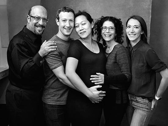 Mark Zuckerberg family Photo