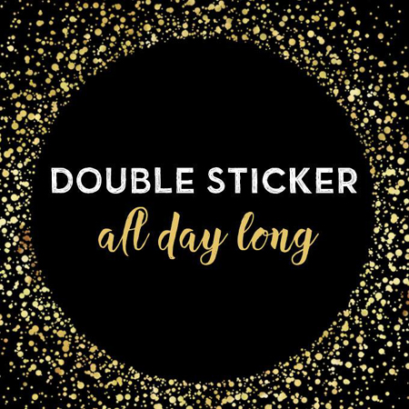 Starbucks Double Sticker Promo