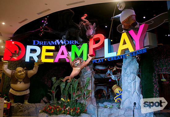 Bond with the Whole Family and Shrek at DreamPlay by Dreamworks