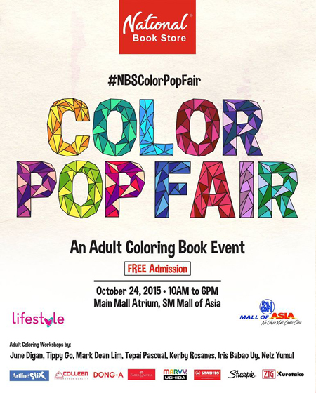 Ready Your Art Gear An Adult Coloring Book Event Is Happening