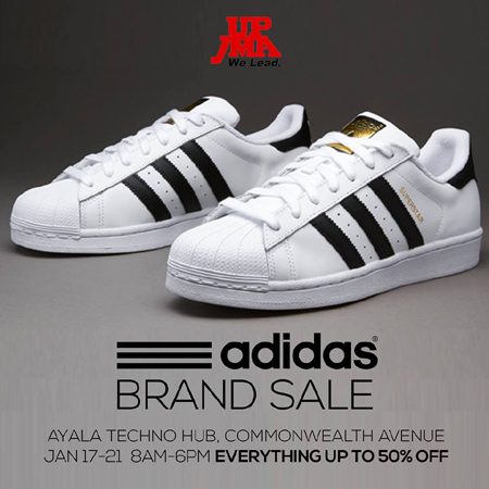 Adidas Brand Sale at Ayala Techno Hub Quezon City