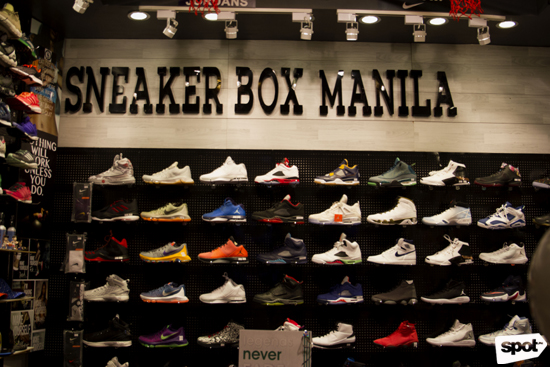 Sneaker Box Manila is now open