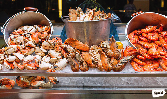 Lobster and Seafood Shack at Circles, Makati Shangri-La Hotel