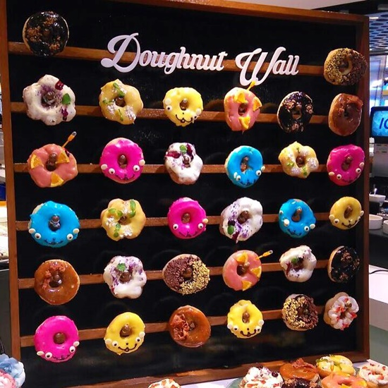 Vikings Is Rolling Out Doughnut Walls