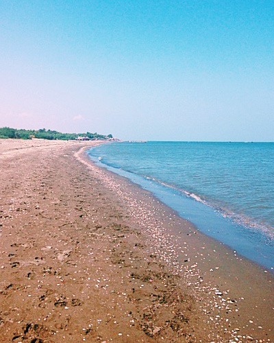 Cavite travel guide - Beach with swimming pool in cavite ...
