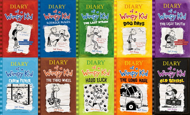 Diary Of A Wimpy Kid How Many Books Are There