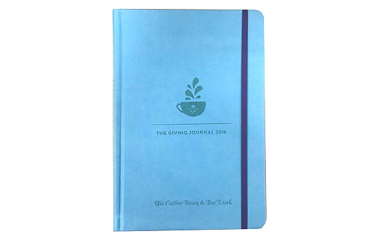 The Giving Journal from Coffee Bean & Tea Leaf