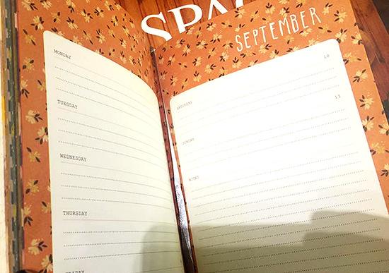 Frankie 2016 Journal Interior