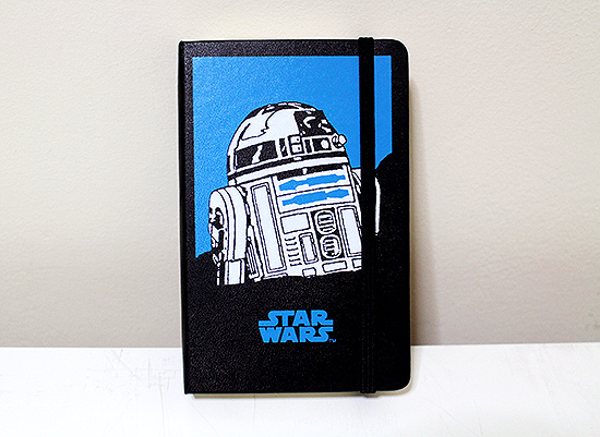 Star wars 2016 Daily Diary from Moleskine