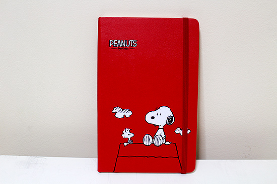 Peanuts 2016 Weekly Planner from Moleskine