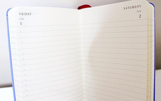 Peanuts 2016 Daily Diary from Moleskine Design