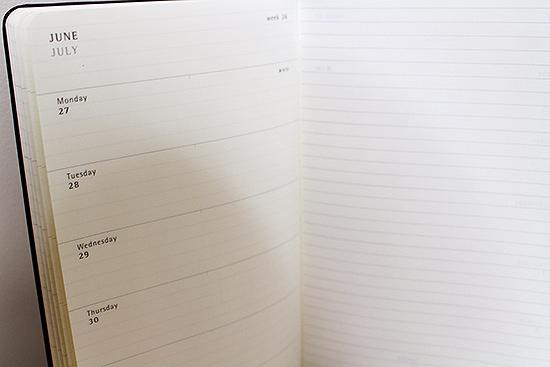 Peanuts 2016 Weekly Planner from Moleskine Design