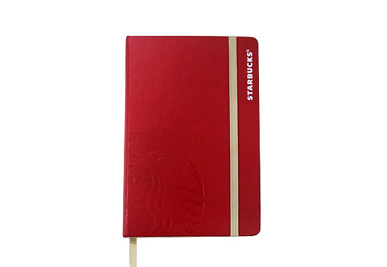 Starbucks x Moleskine 2016 Journal from Starbucks
