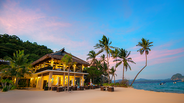 El Nido Resorts On Pangulasian Island Is One Of Condé Nast Traveler S Favorites