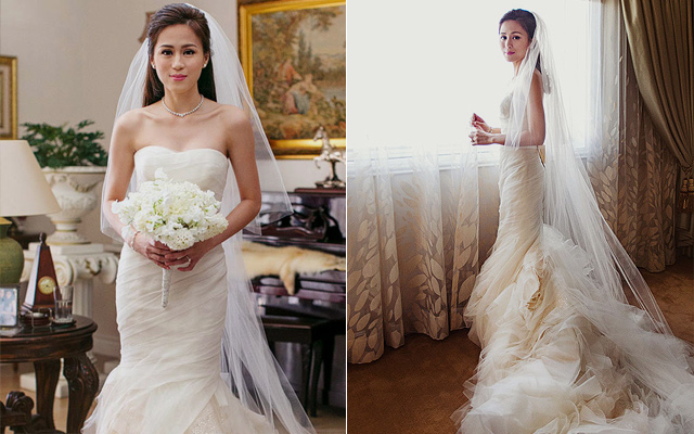 Beautiful pinoy celebrity wedding gowns spot share junglespirit Gallery
