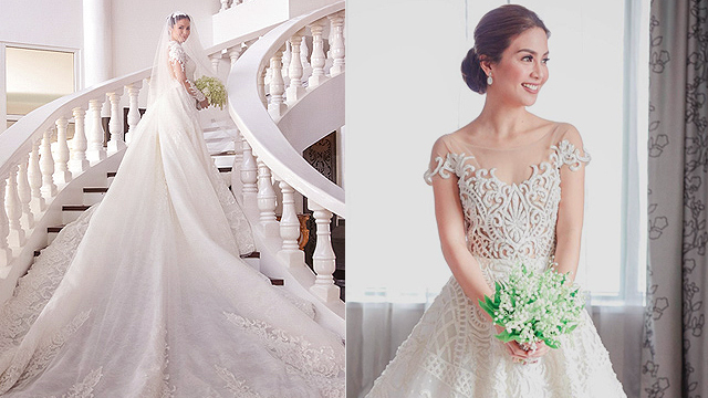 10 Gorgeous Celebrity Wedding Gowns 2017 Edition