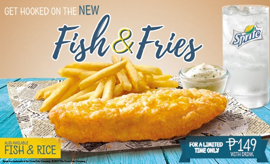Mcdonalds philippines menu fish and fries for How many calories in a mcdonald s fish sandwich
