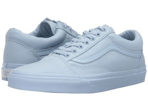 vans old skool mono light blue