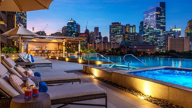 10 metro manila hotels with beautiful swimming pools - Glamorous swimming pool with affordable budget ...