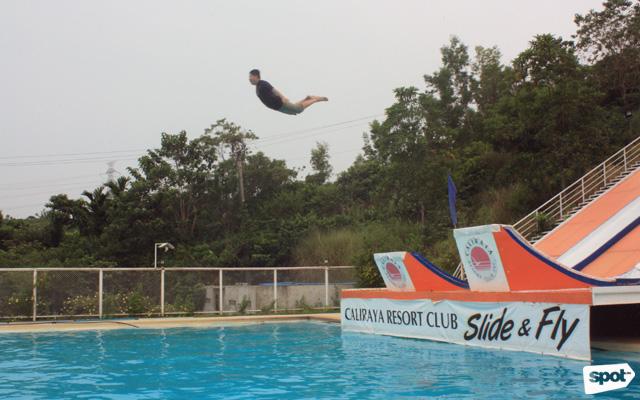 Slide And Fly Is Newest Ride At Caliraya Resort Club Spot Ph