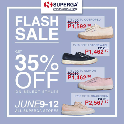 There Will Be a Superga Flash Sale From
