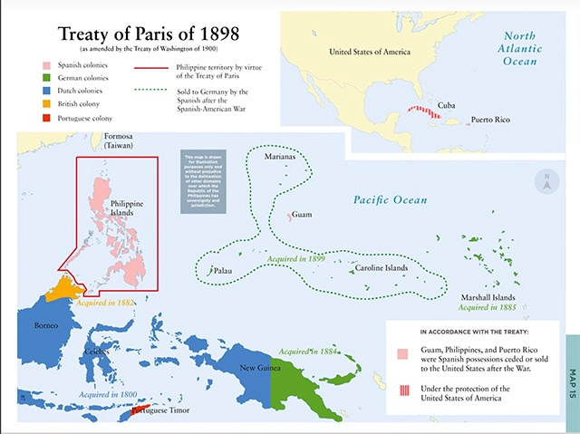 Spanish American War Philippines Map.Forgotten History Of The Philippines And Its Original Territory