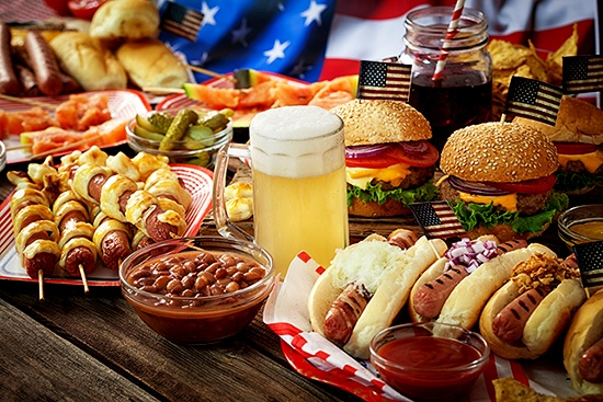 Crimson Hotel Hosts Stars And Stripes American Buffet