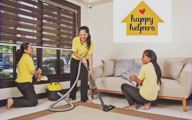 HomeCleaning Services You Can Try In Manila SPOTph - Bathroom cleaning lady