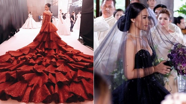 The Most Unconventional Celebrity Wedding Gowns | SPOT.ph
