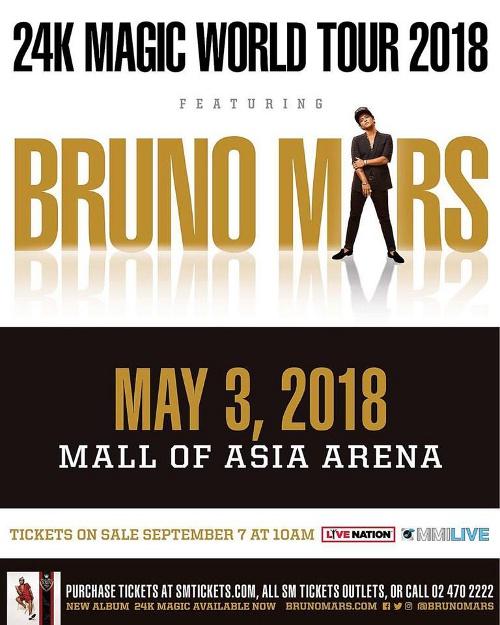 International Concerts In Manila In 2018