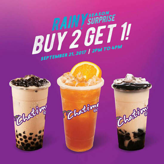 Chatime Has a Milk Tea Treat for You This Week