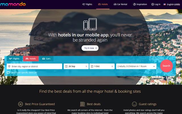 Hotel Finder Websites