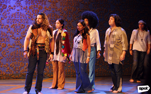 Repertory Philippines Stages Hair, A Rock Musical