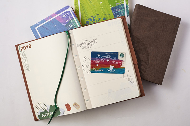 FIRST LOOK: The Starbucks 2018 Planners Are Here   SPOT.ph