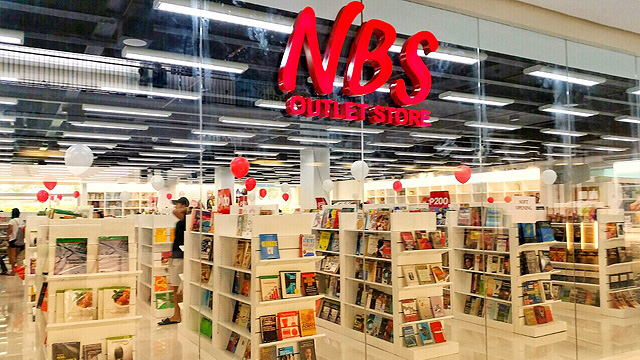 National book store outlet store at sta rosa laguna for Last design outlet