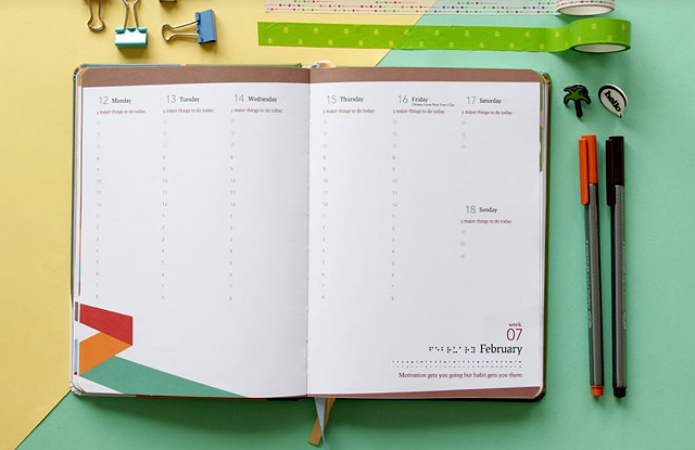 50 Perfect 2018 Planners Diaries And Journals Spot Ph