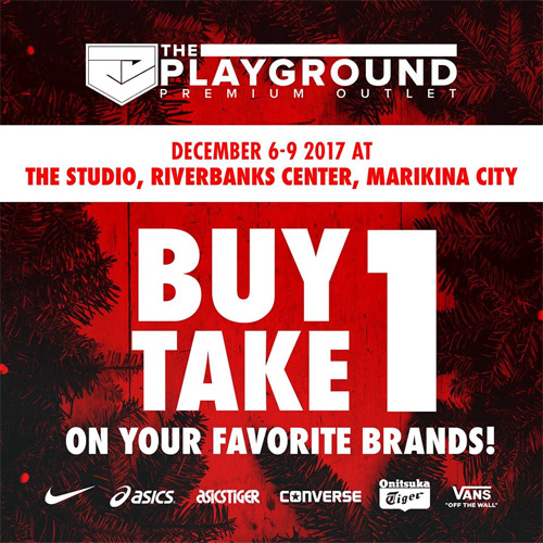 reputable site d7ef1 31b9b The Playground Premium Outlet Buy-One-Take-One Promo  SPOT.p