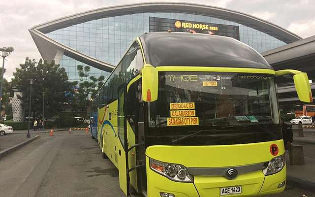 Ceres Opens Bus Terminals at Mall of Asia