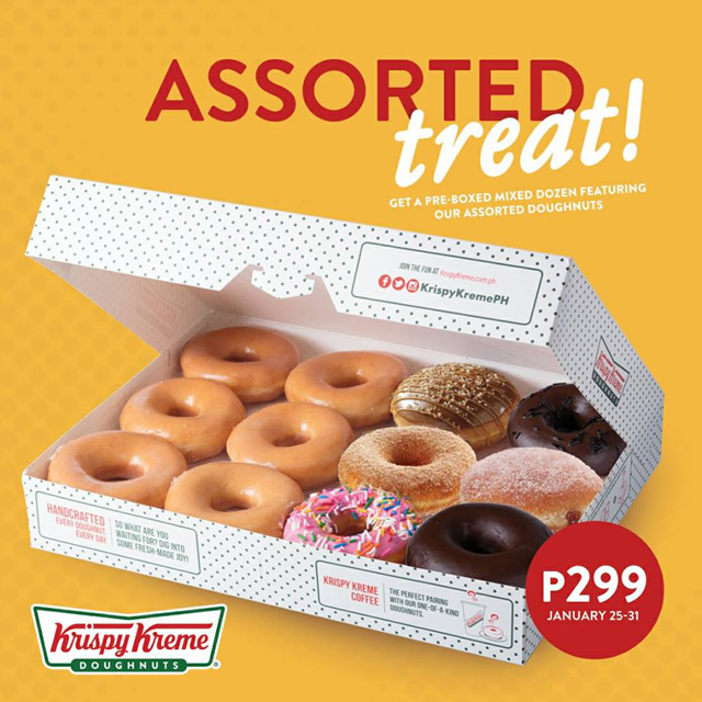 Menu for Krispy Kreme Bonifacio High Street. Original Glazed There world famous doughnut made from a secret recipe dating from the 's.